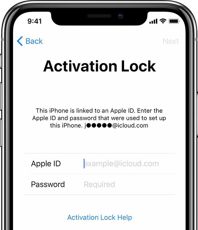 iCloud Lock