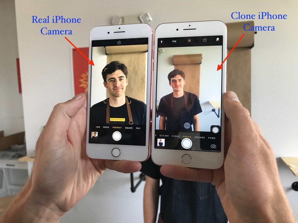 iPhone is Original or Cloned camera