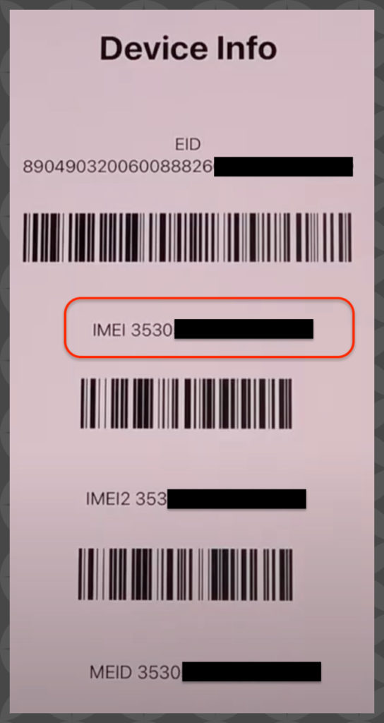 iPhone 12 IMEI Number Check