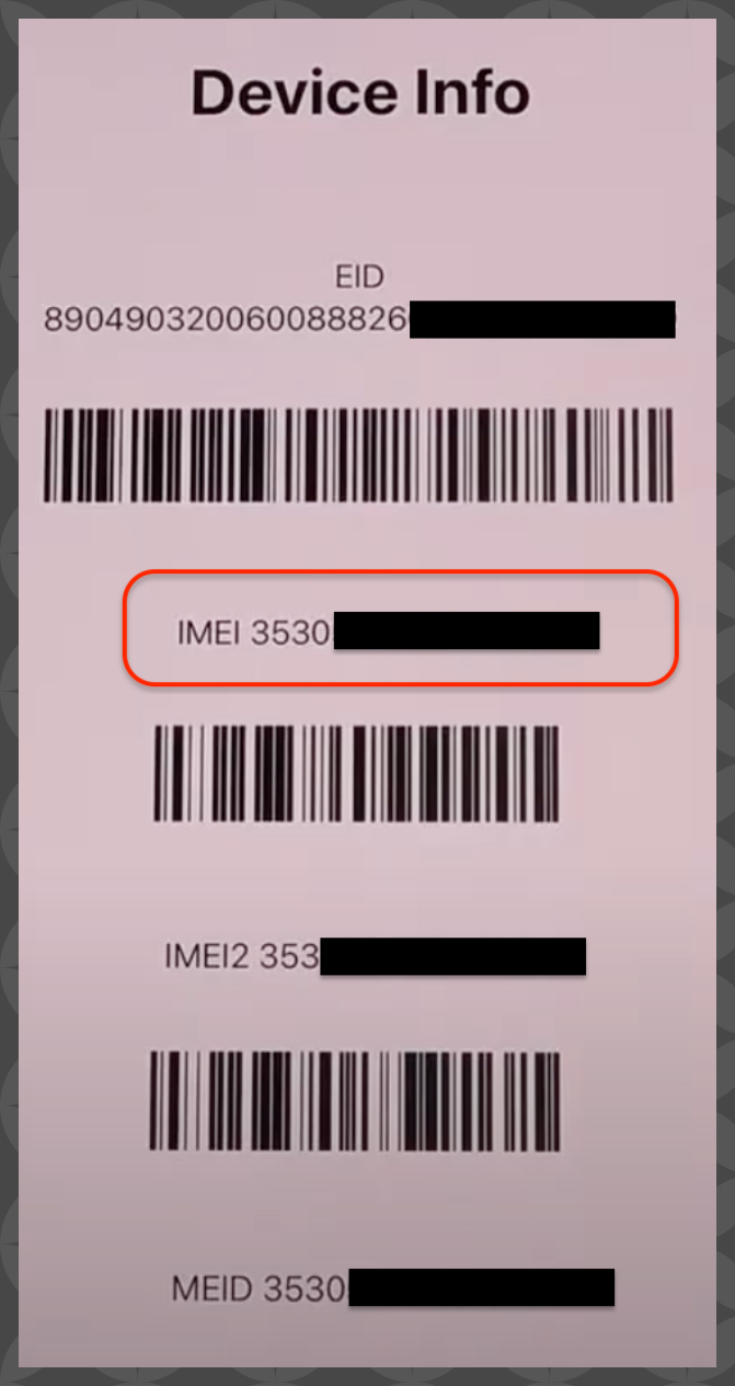 iPhone 12 IMEI Check