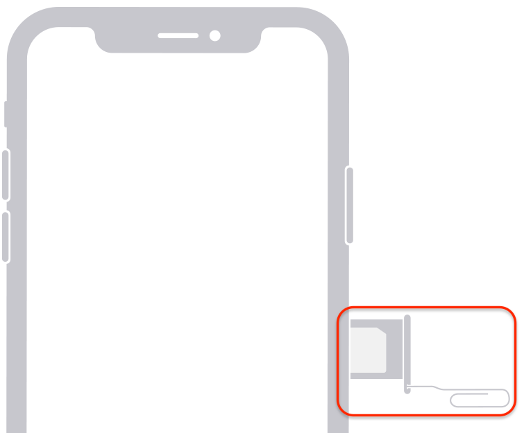 iPhone 12 SIM Tray