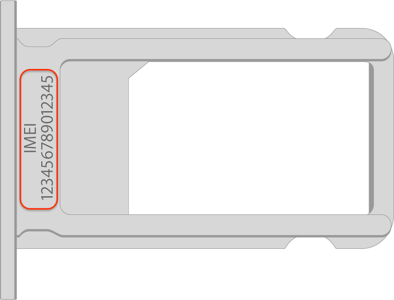 Sim Tray iPhone 12